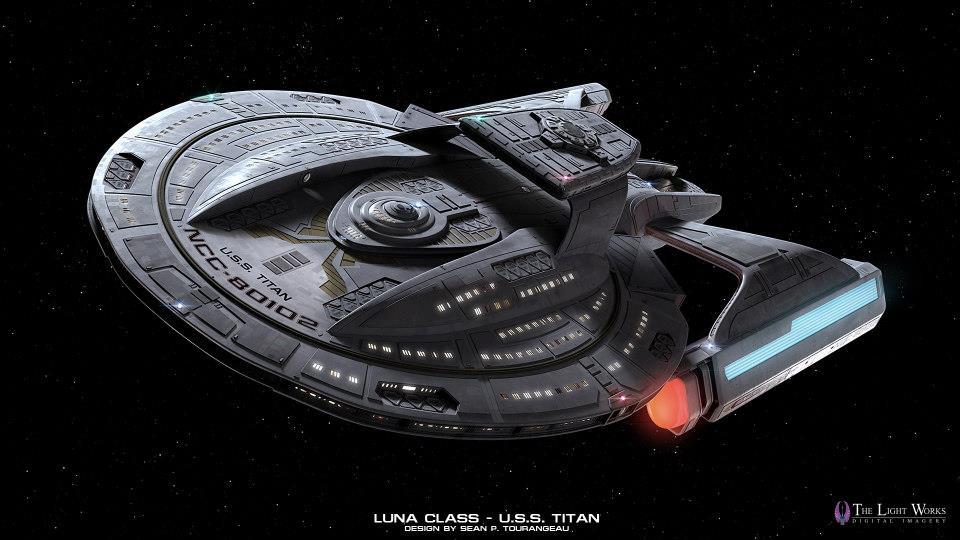 Star Trek Titan Kevinjamesng