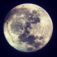 SLIDESHOW | February moon night sky -2014
