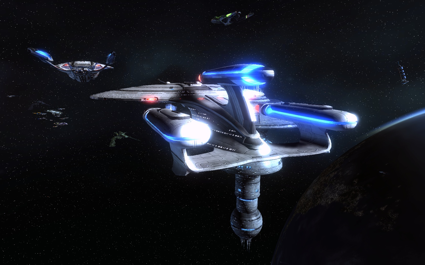 Star Trek Online 2020 Q Christmas Race Tier 6 STAR TREK ONLINE | revisiting the Galaxy Dreadnought class