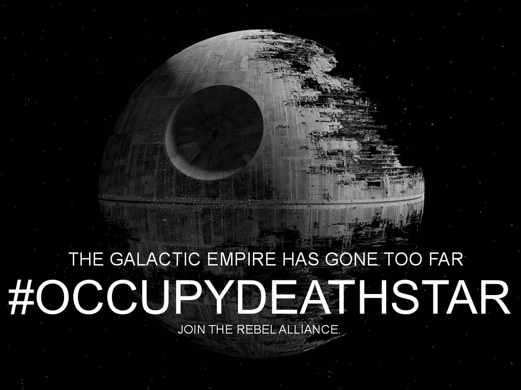 OCCUPYDEATHSTARONE