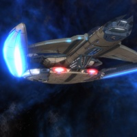 STAR TREK ONLINE | patrolling with a Temptress with a Tempest class…?