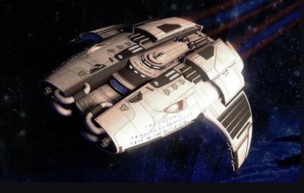 Via -Star Trek Online - tier six pilot ship
