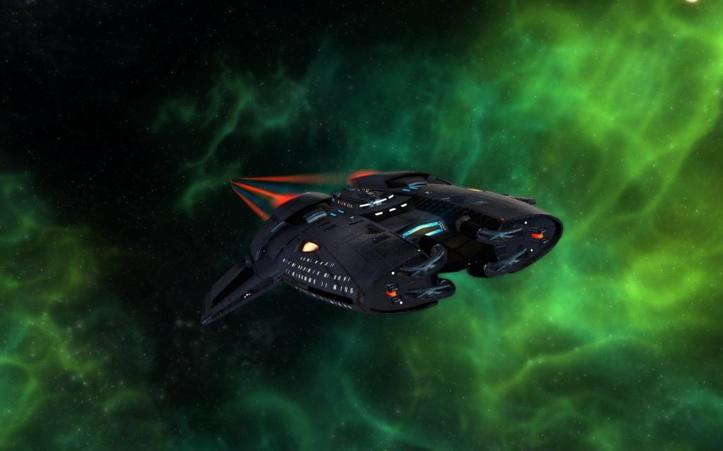 Star Trek online- Mercury Class-Tier six Pilot Escort variant...
