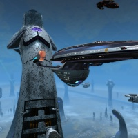 STAR TREK ONLINE | revisiting the Resolute Class…..the tier six fleet one...!!!
