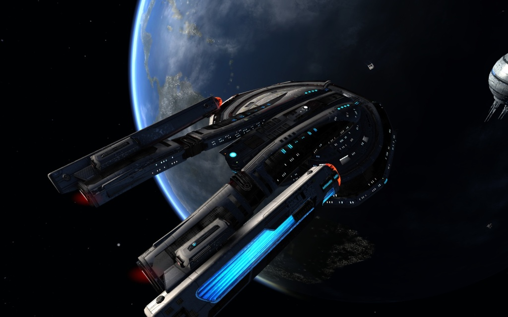 STAR TREK ONLINE – Tier six | the Alita Class heavy escort carrier..
