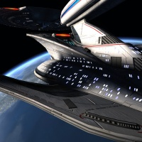 STAR TREK ONLINE | the fleet  tier six Yamato dreadnought class... It's like a having a sniper's rifle...