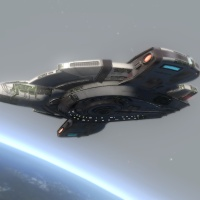 STAR TREK ONLINE | the Tier six fleet Valiant escort……. it's something like the Defiant …!