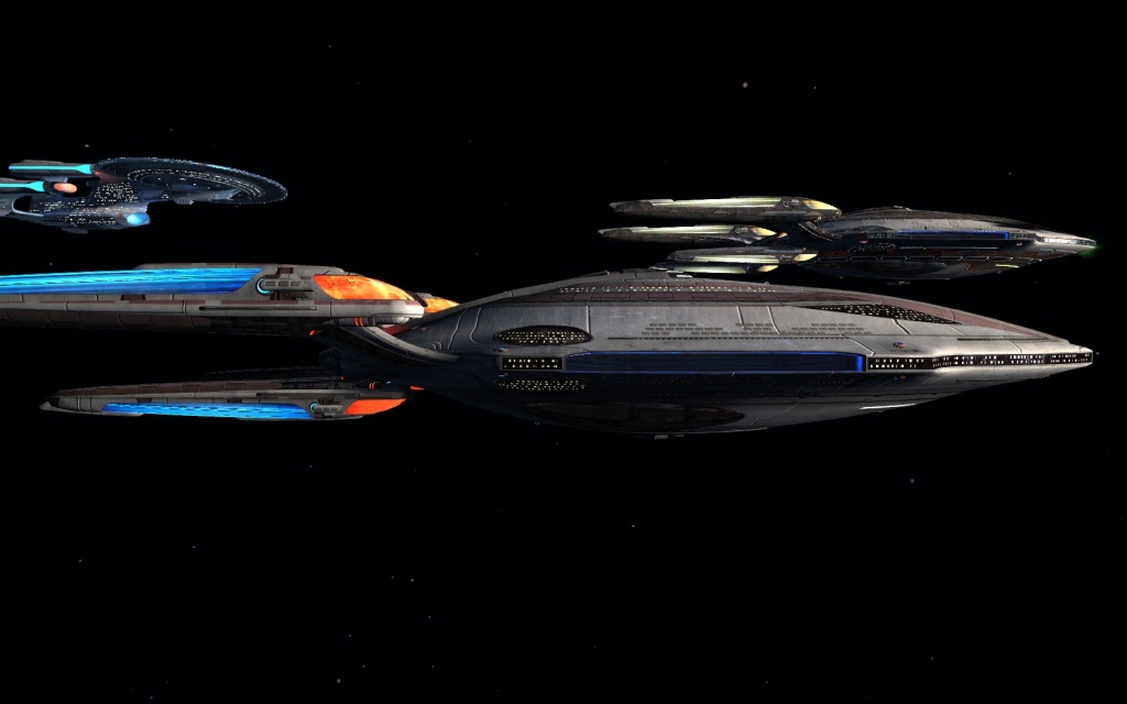 STAR TREK ONLINE | the new Fleet T6 Jupiter carrier class