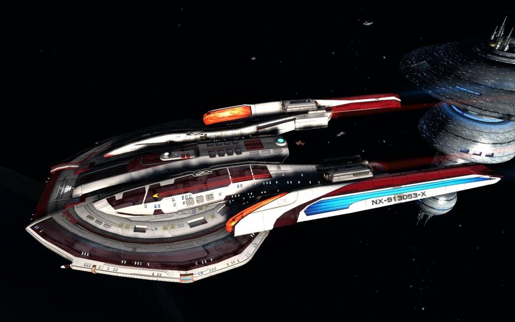 STAR TREK- ONLINE-BEYOND | my take on the modern USS Franklin – meet USS Anne Bree Franklin...