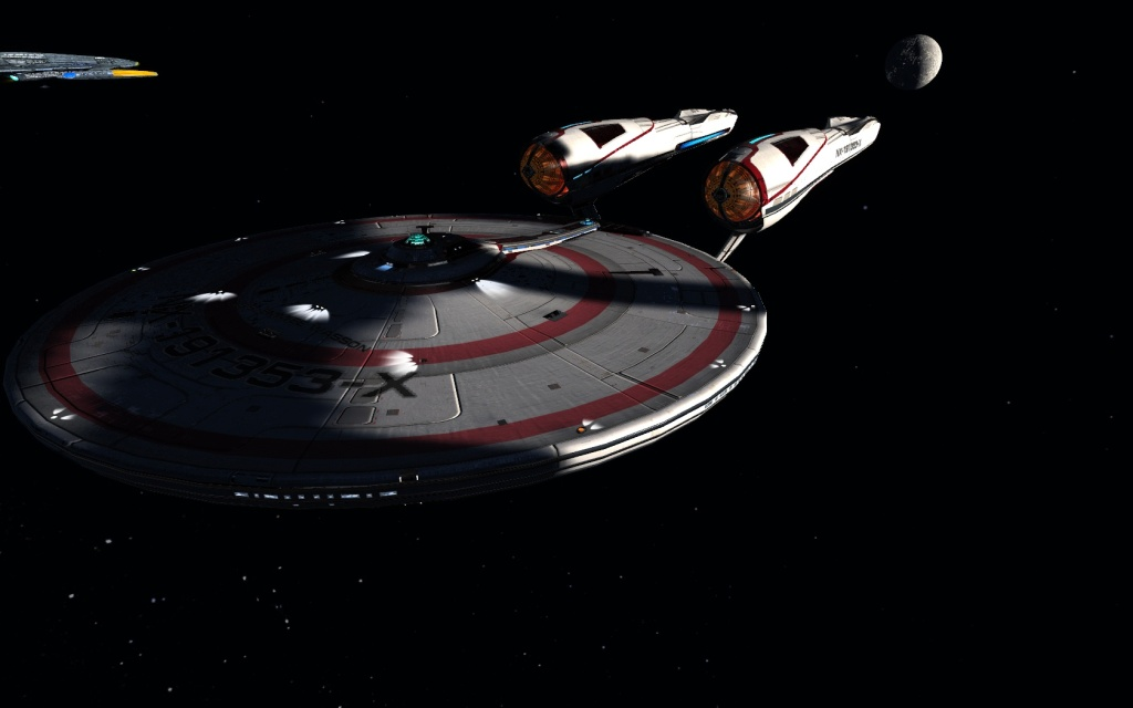 STAR TREK ONLINE- The T6- Kelvin Timeline Heavy Command Cruiser- the Constitution class... is fashionable like your Little Black dress that you can't go wrong wearing it…..?