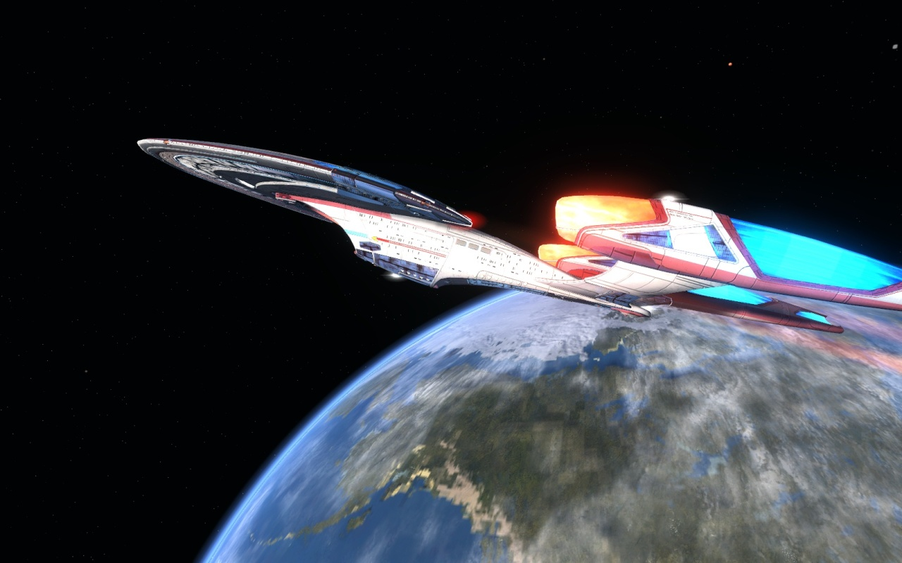 STARTREKONLINE | Tier six- Intel Assault Cruiser- Archon Class- The daughter of the sovereign Photographer @KevinJamesNg