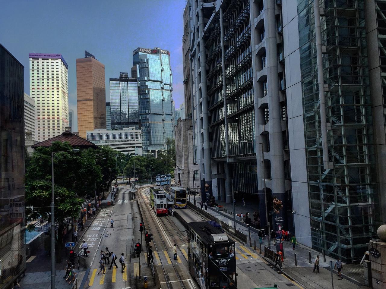 香港 #AlreadyTomorrowInHongKong- Adventuring without #TARDIS | Ding Dings - Hong Kong iconic Trams- Not just another word for a Zygon Detector...... Photographer @KevinJamesNg 2016