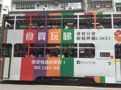 香港 #AlreadyTomorrowInHongKong- Adventuring without #TARDIS   Ding Dings - Hong Kong iconic Trams- Not just another word for a Zygon Detector...... Photographer @KevinJamesNg 2016