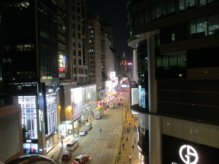 Among the stores is the Apple store that Canton Road store is one of sixth stores that's located around Hong Kong..