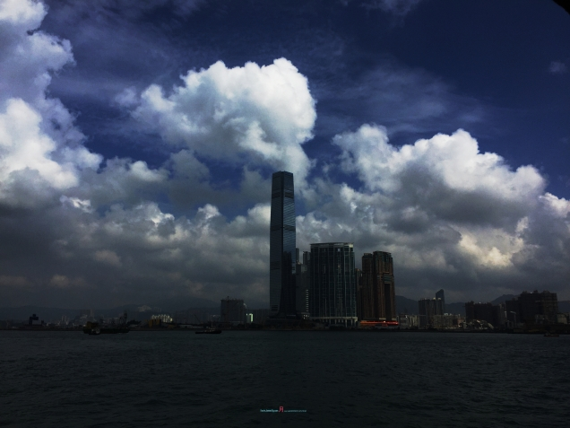 Travelling from a star ferry giving you more how Tsim Sha Tsui developed..... into Hong Kong next major hub between Canton Capital Guangzhou and Hong Kong as to the Hong Kong Island with the IFC building Central side..