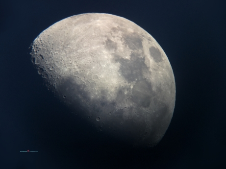 The Moon Luna making ways as the terminator makes way for the Mid Autumn festival for the Asian Communities..