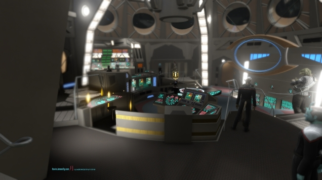Deep Space Nine Operations room- Bridge heart of Deep Space Nine..