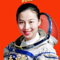 #CNSA #ChinaNationalSpaceAdministration #國家航天局 | #InternationalWomensDay celebrating by the first two female #China #Takonauts colonel# 王亞平 #WangYaping ….. Lieutenant colonel #劉洋 #LiuYang….in which honouring International Chinese Heroes of the fighting of #Covid19..