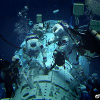 #CNSA #ChinaNationalSpaceAdministration #国家航天局 | #BeltAndRoadinitiative | #Takionauts isolation underwater training in preparations for the #CMS –#ChinaMannedSpace #CCS #ChinaSpaceStation construction in #Beijing…