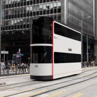#AlreadyTomorrowInHongKong #HongKongTramways #香港 |# 香港電車  # 叮叮 | #AndreaPointi #ConceptualDesign for the new #DriverlessTrams inspired by the #DingDings  international Iconic Hong Kong Tramways Trams   ……….