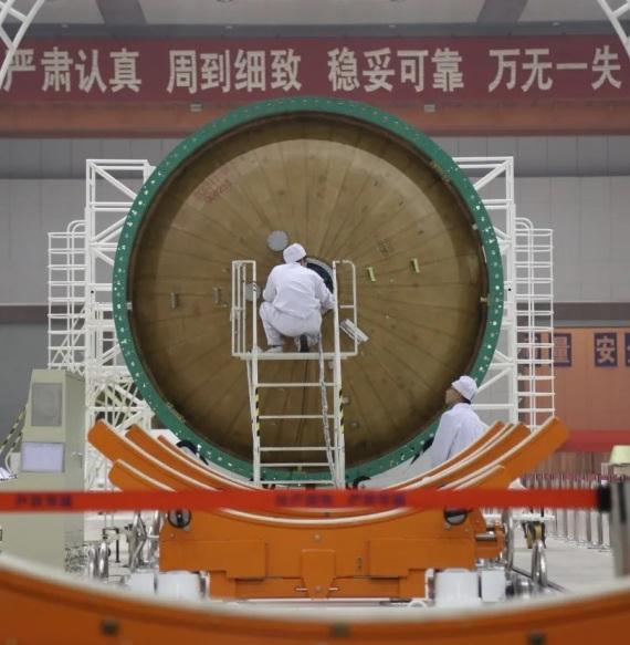 The largest carrier rocket assembly and integration enterprise